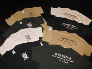 Systema Hamilton T-shirt colors